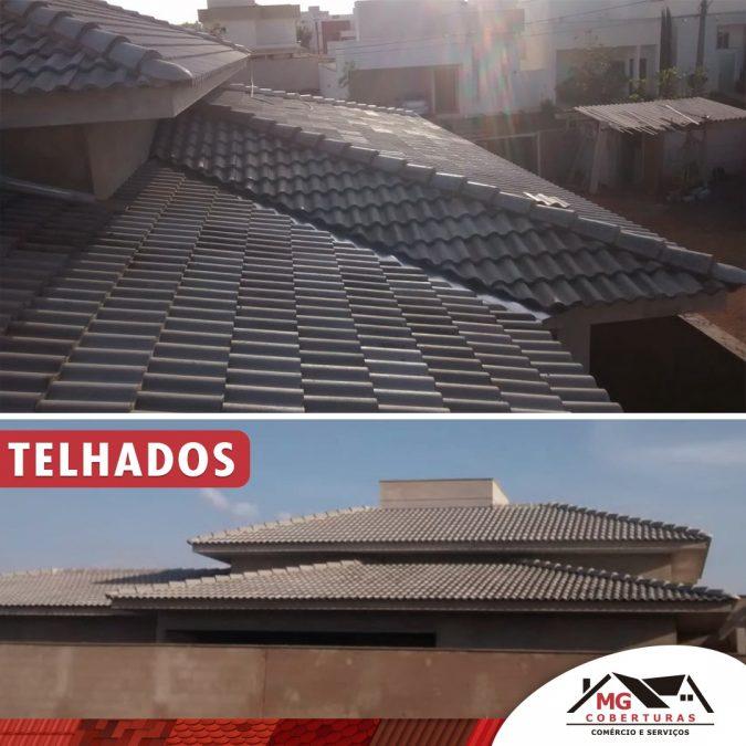Manutenção preventiva das telhas e do telhado