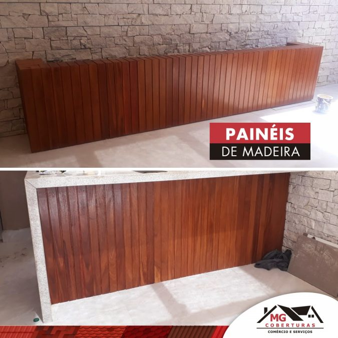 Usos para painéis de madeira