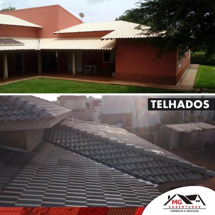 manutenção de telhados