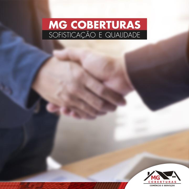 A MG Coberturas valoriza por um serviço profissional