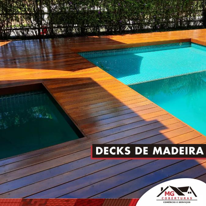 Decks para ambientes externo
